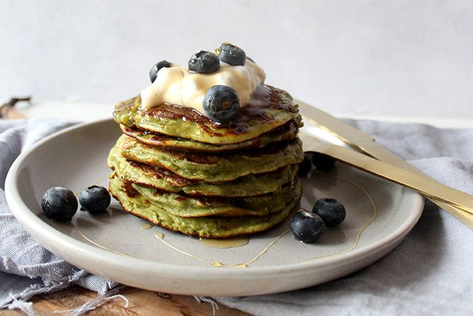 Super Green Pancakes