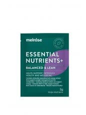 Essential Nutrients+ Balanced and Lean 30 x 3g sachets
