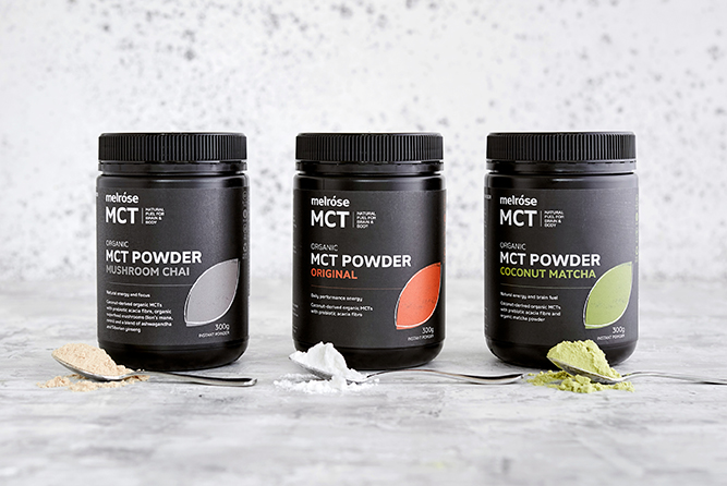 Why I use and recommend Melrose MCT powders
