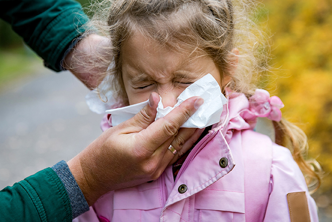 How Do Parents Know If Kids Have The Cold Or a Flu?
